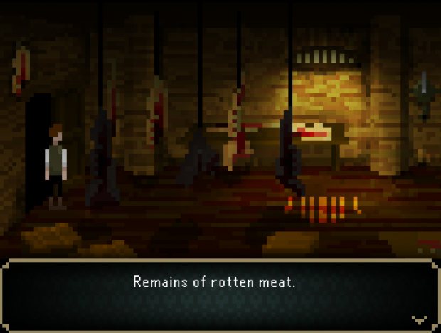 Screenshot of Third Chapter (The Four Witnesses)