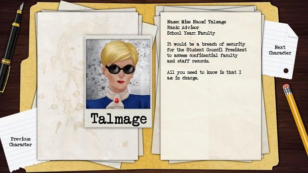 Miss Talmage
