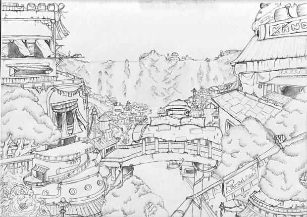Kando Paradise Concept Art 1