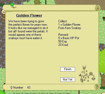 New Quest Screen