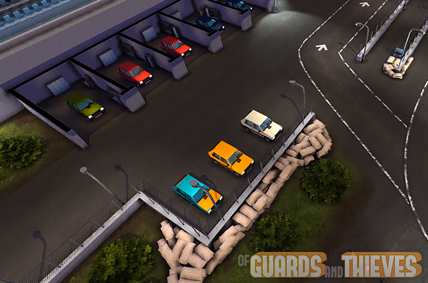 Of Guards and Thieves - Cars and Racing track!