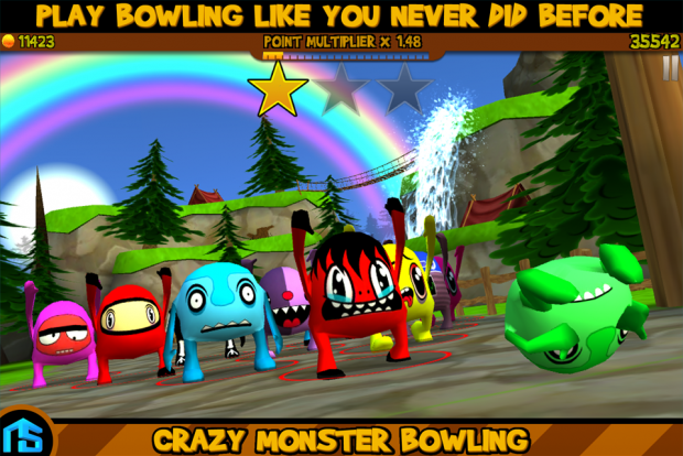 Crazy Monster Bowling
