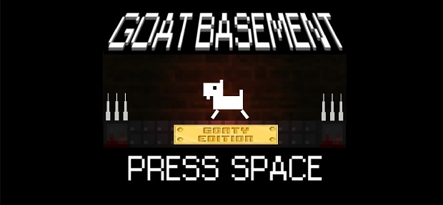 Goat Basement title screen