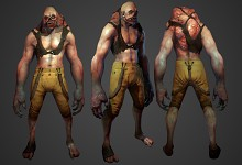 player/mutant model