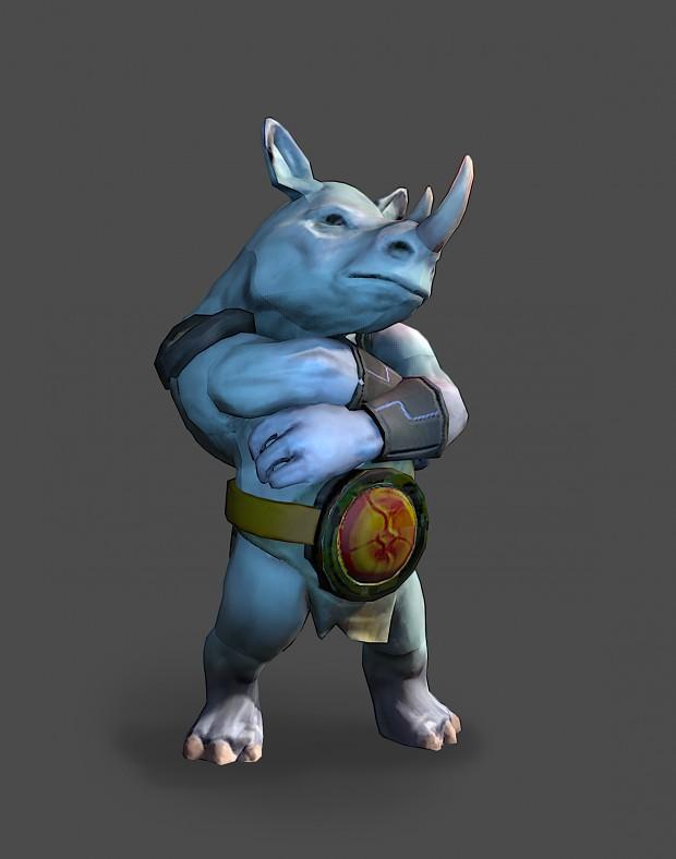 Playable character - Sir Ruttford