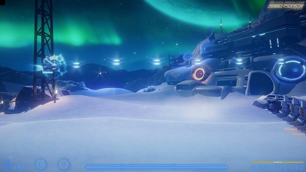 Ice Desert - Valley Polishing Progress 2