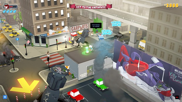 CATDAMMIT! Director's Cat city