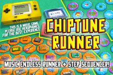 Chiptune Runner for iOS and Android released!