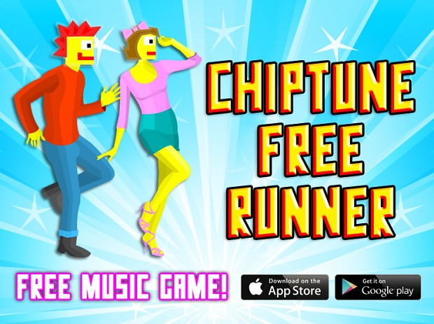 Chiptune Free Runner! Now for IOS and Android!
