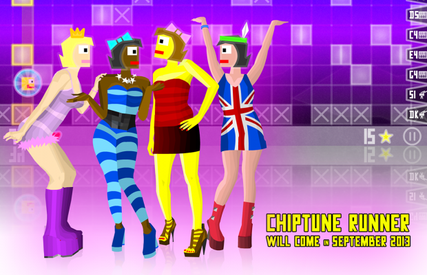 Chiptune Runner game will come in September 2013