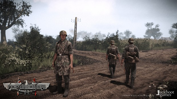 German Characters ingame.