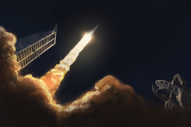 Interplanetary Missile Launch
