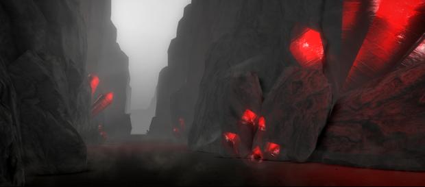 A howling canyon