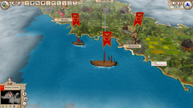 Aggressors :Ancient Rome - Screenshots v0.98
