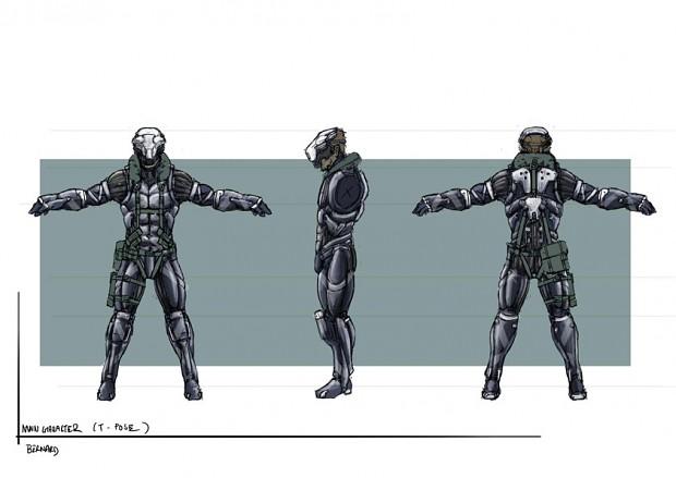 Character artworks