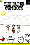 Paper Cowboys End of Level comic book cover