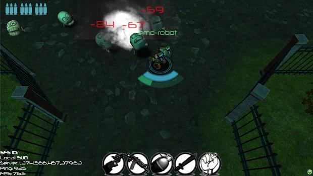 Causing Mass Destrcution with Grenades