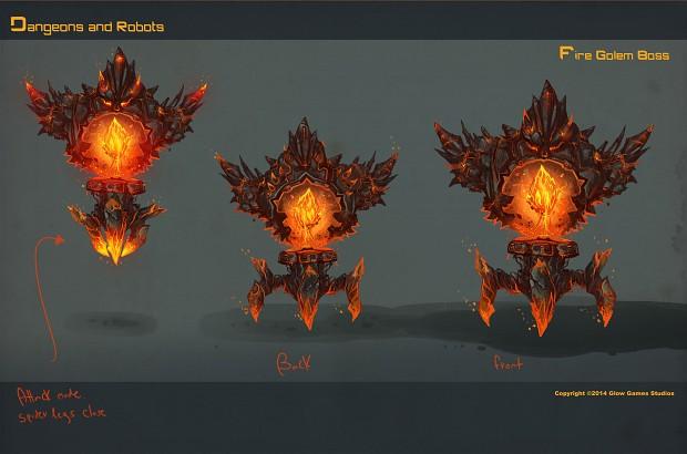 Fire Elemental Boss