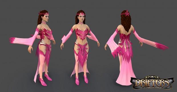 Finish Female Character