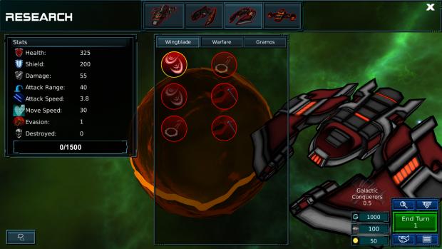 Commander skill research
