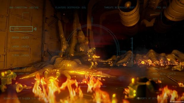 Fire Particles + Alien Growths