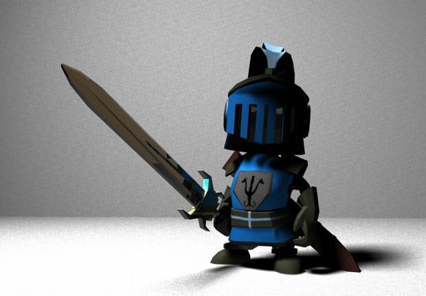Knight Control Art In Development