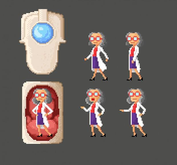 Boss Sprite-Pixel