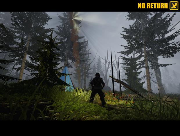 NO RETURN - V0.27 Free Survival & Hunting Game / Sim 2016
