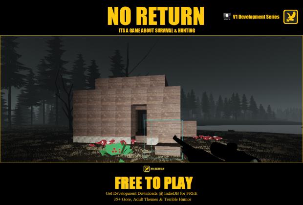 NO RETURN Block Building Survival Bases