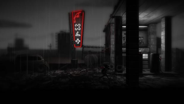 Screenshot from Monochroma