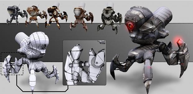 Enemy model
