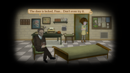 Fran Bow and the doctor