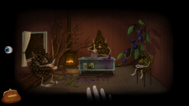 Fran Bow and Pinecone family