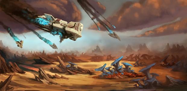 Proven Lands Crash Concept Art