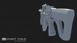 Sons of Icarus Default Assault Rifle