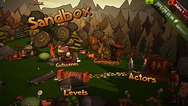 Sandbox Menu