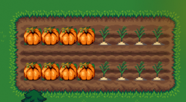 Pumpkins and Sugar Beets.