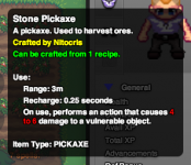 Tooltip: Crafted