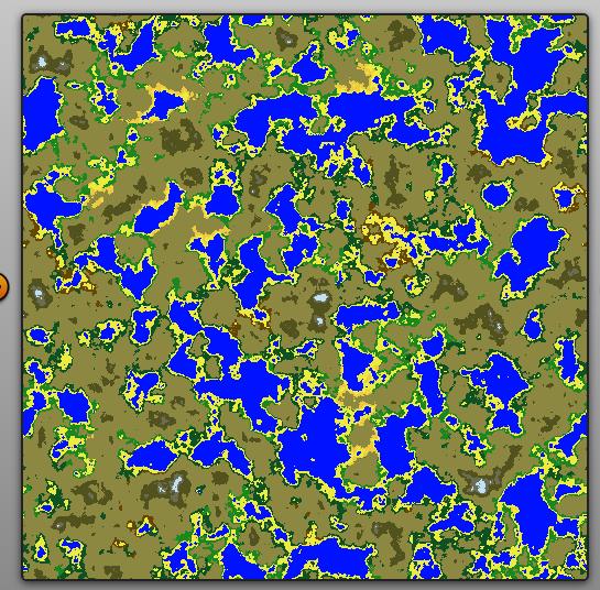 8km x 8km Procgen World Map