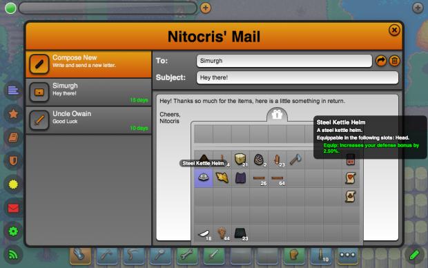 The Mailbox UI (Composing Mail)