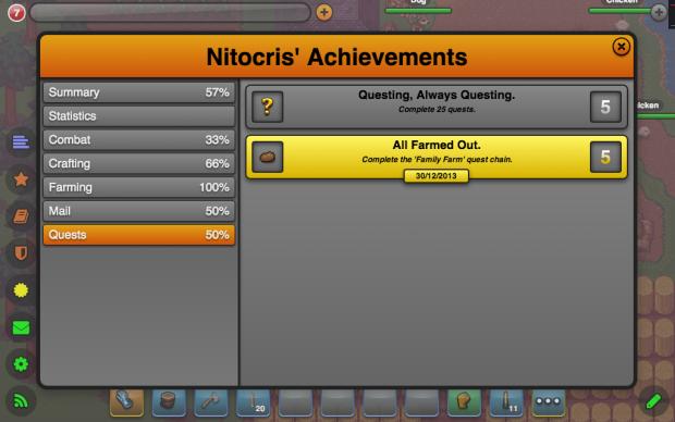 New Questing Achievements
