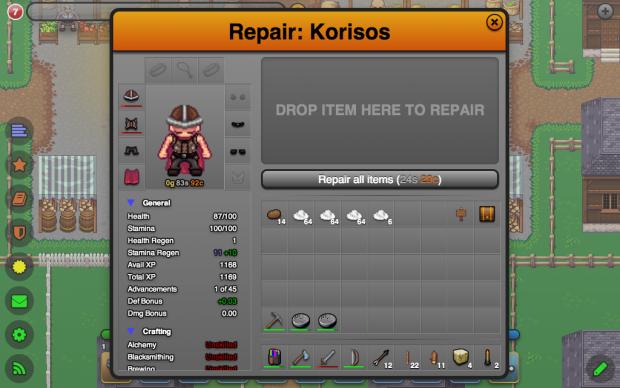 Repair NPC (Before)