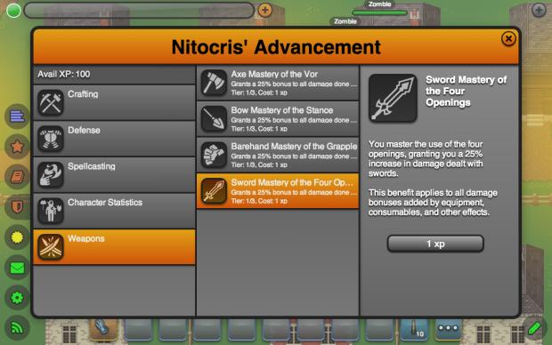 New Advancements (Combat)