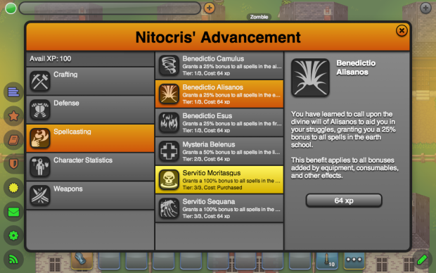 New Advancements (Spellcasting)