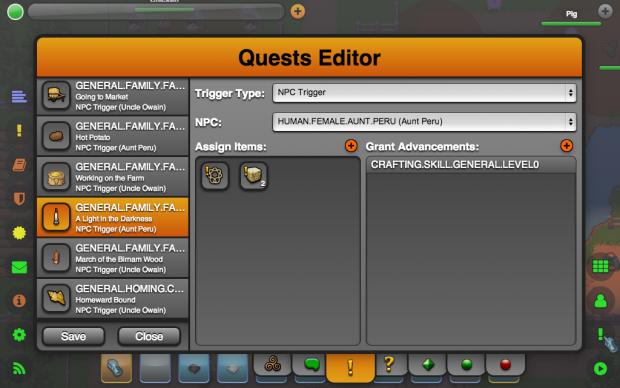 Quest Editor (Triggers)