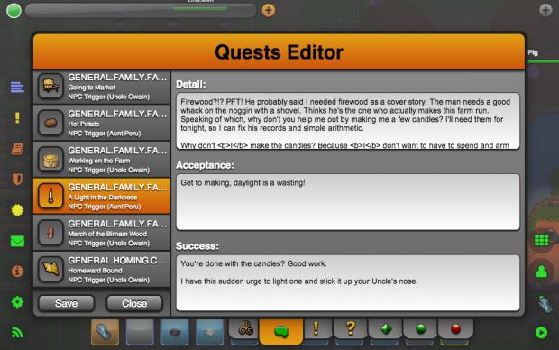Quest Editor (Text Blocks)