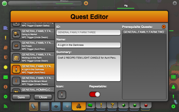 Quest Editor (General Properties)