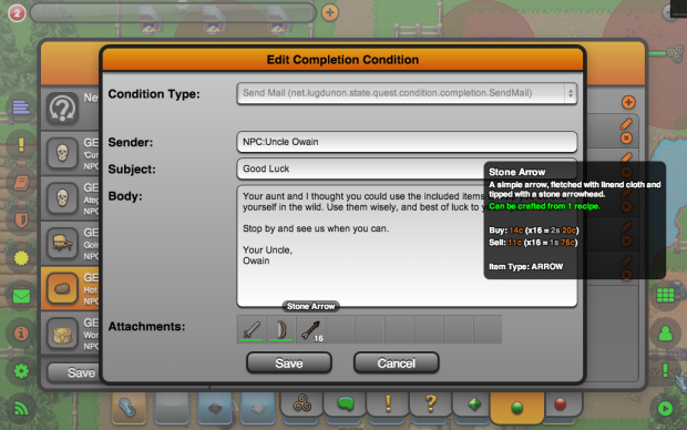Quest Editor (Completion Condition Editor)