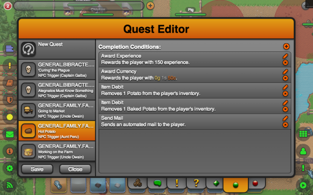 Quest Editor (Completion Conditions List)