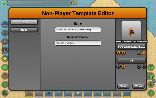 New NPC Editor Features (2/2)